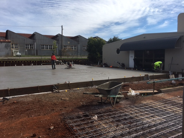The Foundations are laid!