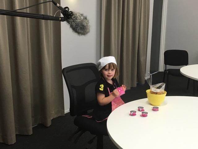 Behind the scenes of our latest TV ad!